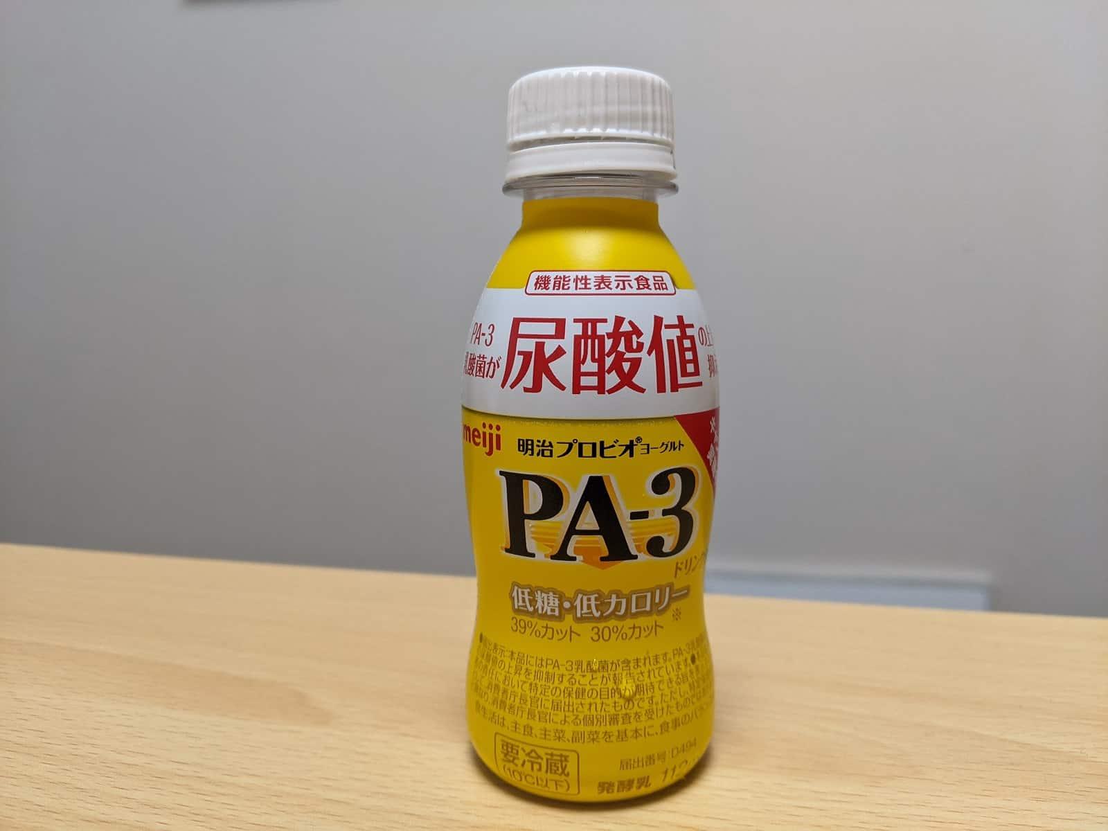 尿酸値を下げるプロビオヨーグルトPA-3